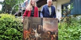 Schilderij gekocht voor geboorte dochter blijkt na restauratie van oude meester te zijn