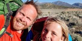 Vader en zoon op epische trektocht in VS