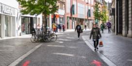 Nauwelijks files in Leuvense winkelstraten
