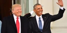 Trump: 'Obama heeft grootste politieke misdaad ooit gepleegd'