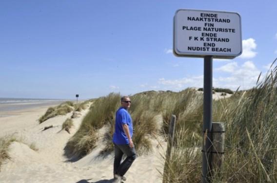 Bredene sluit enige naaktstrand aan onze kust voor één jaar