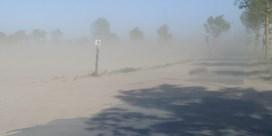 Waar de zandwolken in Vlaanderen vandaan komen