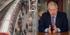 Volle bussen en metro's in Londen ondanks oproep Boris Johnson