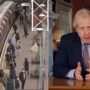 Volle bussen en metro's in Londen ondanks oproep Boris Johnson