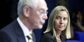Pushte Van Rompuy Mogherini als rector?