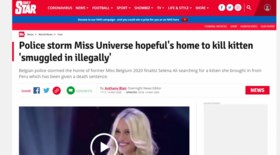 Katje Lee haalt de internationale pers: 'Kat verdeelt de Belgische autoriteiten'