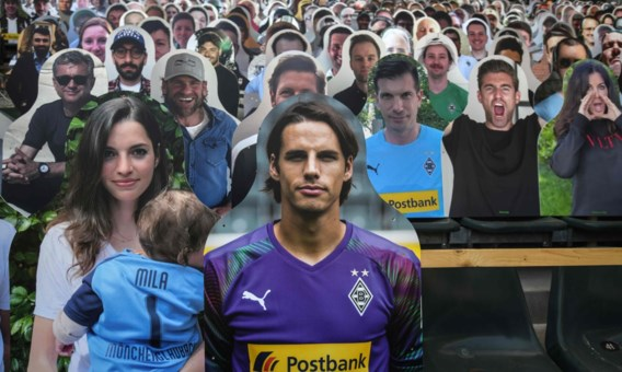 Borussia Mönchengladbach speelt komend weekend in een vol stadion, met dank een duizenden 'kartonnen vrienden'