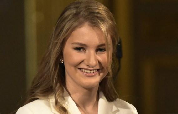 Prinses Elisabeth officieel afgestudeerd in middelbaar