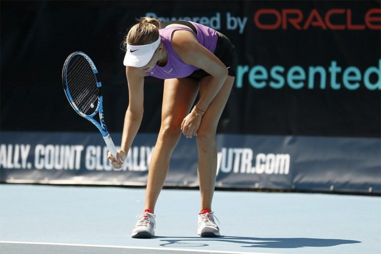 Geen fans en zelf ballen rapen, maar Amerikaans supertalent en drie collega's tennissen de coronacrisis van zich af