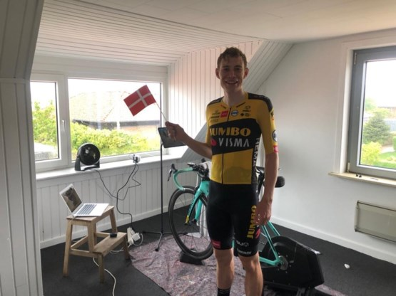 Deen Vingegaard wint 'thuiscompetitie' van Jumbo-Visma, Van Aert wordt zevende