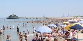 Zo ziet de zomer eruit op het strand van Blankenberge