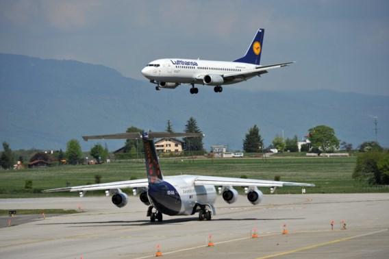 De lange landing van Lufthansa