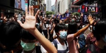 Chinese veiligheidswet lokt weer protesten uit in Hongkong