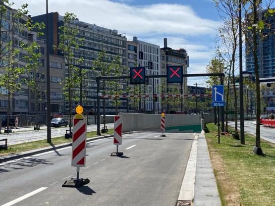 Opnieuw ongeval in nieuwe Operatunnel in Antwerpen