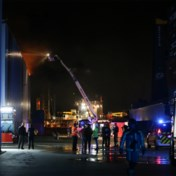 Loodsbrand in Antwerpse haven onder controle