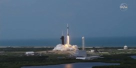 Zo verliep de lancering van de spaceX-raket