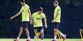 """Trainer van FC Barcelona erkent zwaarte van programma, maar is geen voorstander van vijf wissels: """"Regel gaat ons schaden"""""""