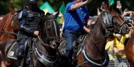 Bolsonaro protesteert te paard tegen Hooggerechtshof