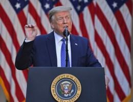 Trump: 'Ik ben jullie president van recht en orde'