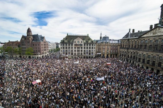 Stevige kritiek op burgemeester Halsema na demonstratie in Amsterdam