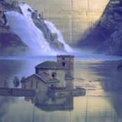 Ondergelopen Italiaans dorp komt weer even boven water