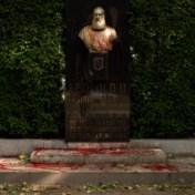 'Je ziet toch ook geen standbeeld van Adolf Hitler in Berlijn?'