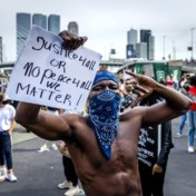 Rotterdamse antiracismebetoging afgebroken na onbeheersbare drukte