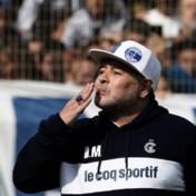 Diego Maradona nog een jaar langer coach van Gimnasia