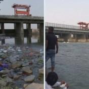 'Meest vervuilde rivier ter wereld' stroomt weer door lockdown