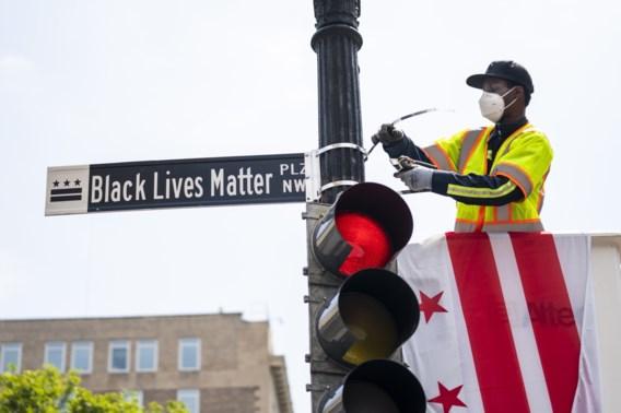 Burgemeester wil troepen weg uit Washington en hernoemt plein naar 'Black lives matter plaza'