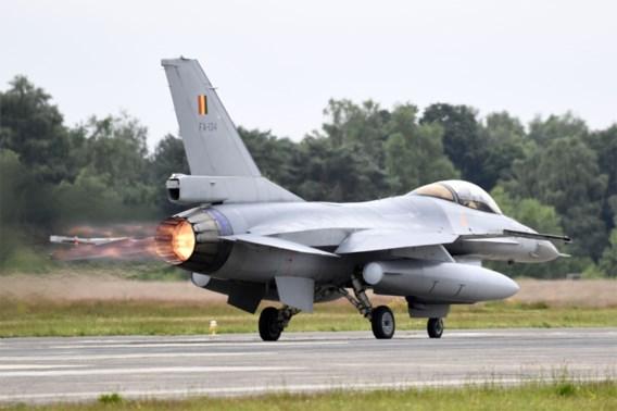 Kamercommissie geeft groen licht voor inzet Belgische F-16's