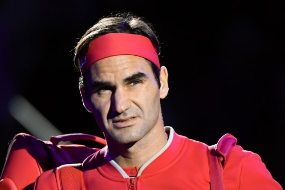 Roger Federer komt dit seizoen niet meer in actie