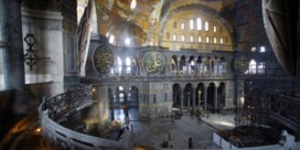 Erdogan pookt achterban op met 1.500 jaar oude Haga Sophia