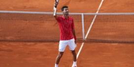 Novak Djokovic trakteert publiek op snelle zege in eigen tennistoernooi