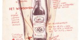 Wijs uit het wijnetiket