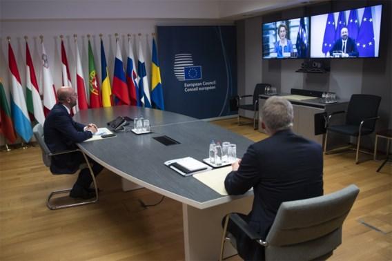 Johnson en Europese leiders eens over 'nood aan nieuw momentum' voor Brexit
