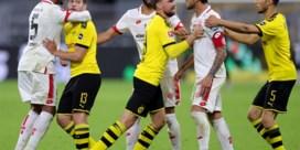 Tweede plaats voor Dortmund-Belgen in gevaar na pijnlijke nederlaag, Bornauw scoort z'n zesde van het seizoen
