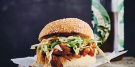 Pulled mushroom burger met snelle barbecuesaus