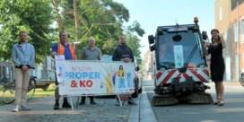 Kortrijk sluit straten af om ze kraaknet te maken