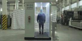 Wie Poetin wil ontmoeten moet eerst door een desinfecterende tunnel