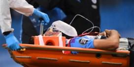 Het zag er even niet goed uit voor City-verdediger Eric Garcia, maar hij mag ziekenhuis al verlaten