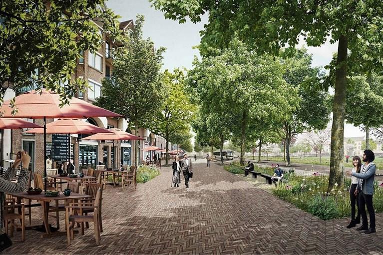 Grote Markt in Sint-Niklaas wordt pak groener