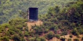 Noord-Korea zet weer luidsprekers met propaganda aan grens