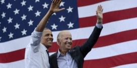 Obama geeft fundraiser Biden duw in de rug