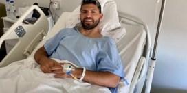 Seizoen Sergio Agüero zit er vermoedelijk op: City-spits in Barcelona geopereerd aan knie