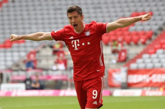 Robert Lewandowski is de Speler van het Jaar in de Bundesliga