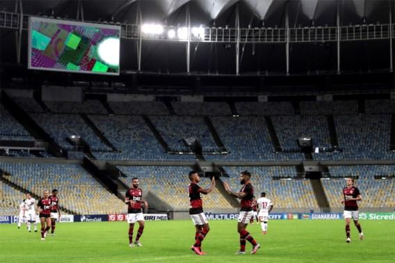 Voetbalfans in Rio de Janeiro mogen medio juli weer naar het stadion