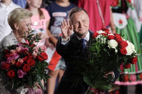 Duda wint eerste ronde Poolse presidentsverkiezingen