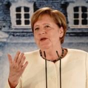 Merkel over mondmaskers: 'Ga u niet vertellen waar ik mijn boodschappen doe'
