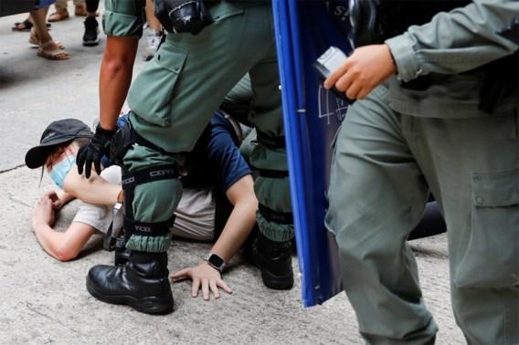 Politie arresteert meer dan 300 mensen in Hongkong